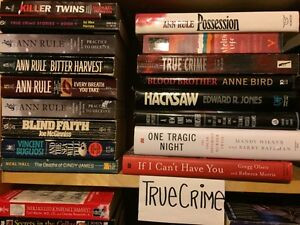 TRUE CRIME- all new stock