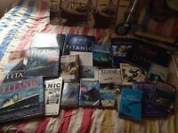 Titanic books and other ships