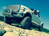 2010 white Lifted ford f-350 For Sale!