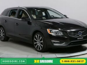 2015 Volvo V60 T6 PREMIER PLUS TOIT OUVRANT CUIR BLUETOOTH MAGS