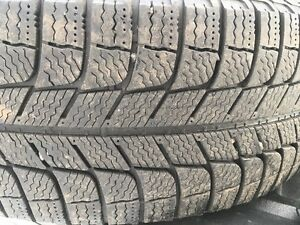 P225/60 R 16 Michelin Xice Snow Tires and rims