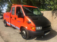 2002 51 IVECO-FORD DAILY 2.8 DOUBLE CAB RECOVERY TRUCK SPEC LIFT 6SPD MAY P/X