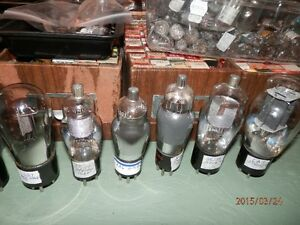 Quality  B=K TESTED Big Shaded Power Amp 6L6 g TUBES