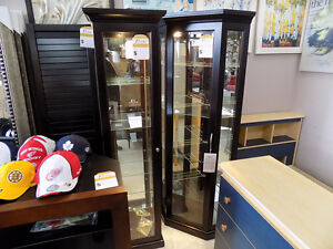 Curio Cabinets, Ottomans, Benches,  TAX INCL> Call 727-5344 St. John's Newfoundland image 1