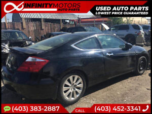 2009 HONDA ACCORD COUPE FOR PARTS PARTING OUT CARS CAR PARTS