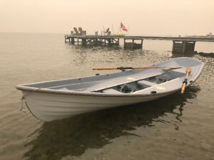 Very Fast two station 16.5 foot row boat- Mellonseed