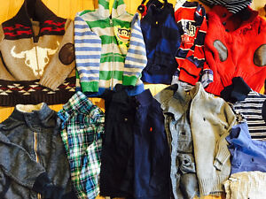 Boys 5t all brand names lots of pants tshirt sweaters