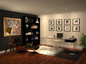 Interior Design Services/3D Renderings $40/hour