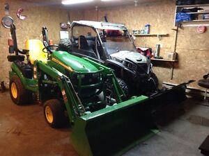 Servicing lawn tractors for winter storage
