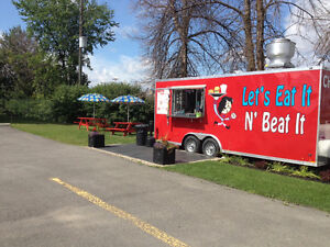 20' Food Trailer with GREAT LOCATION