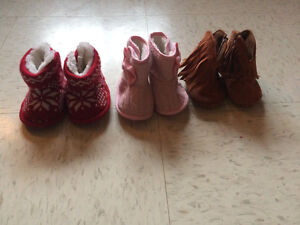 0-3month booties