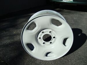 """FACTORY F150 -17""""        STEEL 6 BOLT 135 RIMS FIT 04 TO 17"""