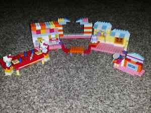 Hello Kitty  mega blocks  Cambridge Kitchener Area image 2