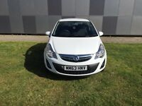 3 months warranty Vauxull Corsa 1.2 petrol reg 2013 milage 19,000