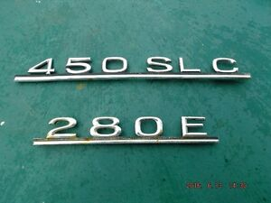 Mercedes Benz  Trunk  plates for sale Kingston Kingston Area image 1