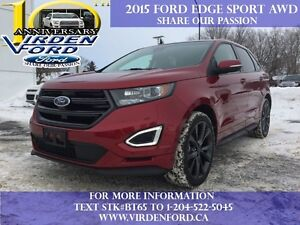 2015 Ford Edge Sport   - Low Mileage