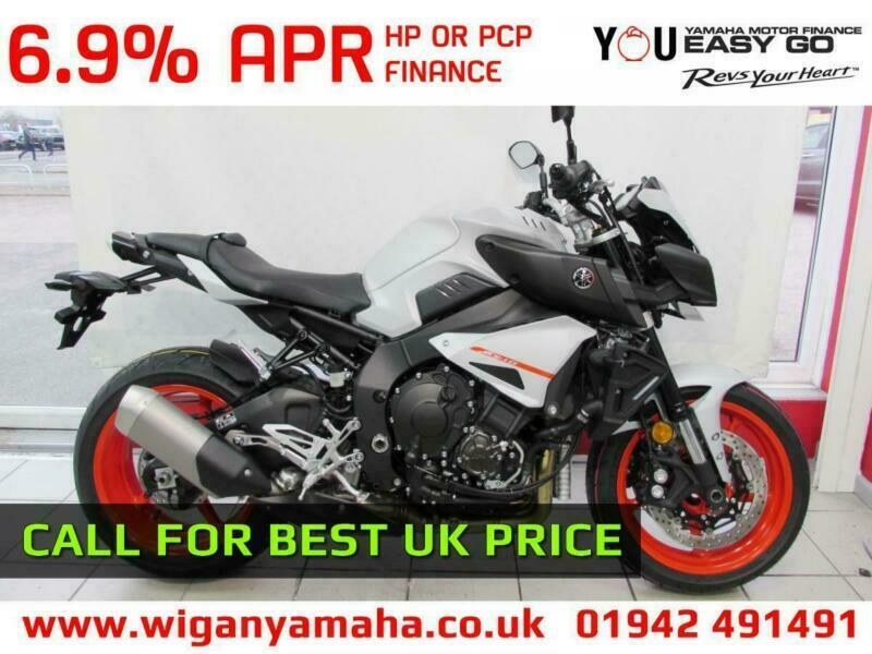 Yamaha Mt 10 2019 Model In Ice Fluo Blue Or Black 19 Reg 0 Miles Naked R1 In Wigan Manchester Gumtree