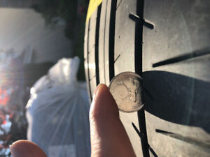 SUMMER TIRES 255/45ZR19 X2 TIRES ROUES 2X 255 45 19