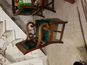 Beautiful set of 6 antique chairs