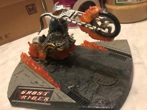 MARVEL GHOST RIDER TITANIUM JUST MOTORCYCLE NO FIGURE.