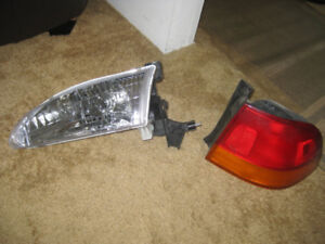 Lamps /lights  for 1998 Toyota Corolla & Honda Civic RS