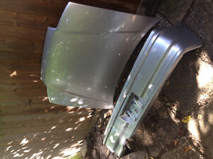 1991 Honda CRX SI original rear bumper and Hood