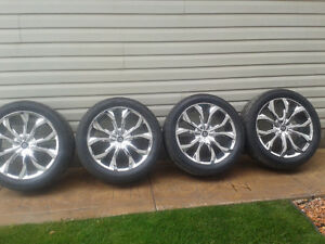Lexani rims and nitto rubber for sale