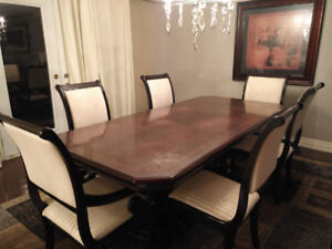 2 Beautiful Wooden Dining Room Tables For Sale! BEST OFFER