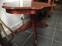 Beautiful antique vintage coffee table - solid wood