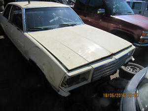 1979 Chevrolet Malibu Two Door Parting Out Entire Car RareToFind