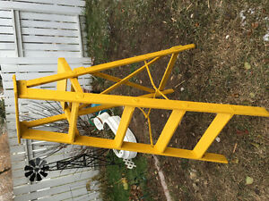 vintage yellow ladder 6 feet Edmonton Edmonton Area image 1