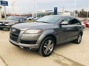 2013 AUDI Q7 TDI DIESEL, TOP OF THE LINE,7PASSENGER,NAVI,LOADED!