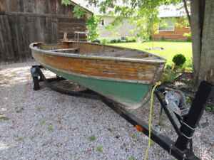 1962, One of a Kind, 14ft. Cedar Boat