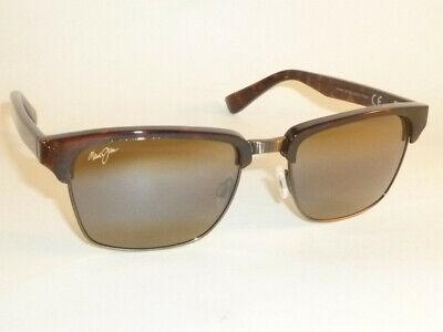 b124f49036801 New Authentic Polarized MAUI JIM KAWIKA Sunglasses H257-16C Tortoise Frame