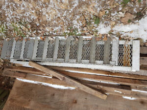 2x 6ft steel car ramps. Used primarily for tractors.