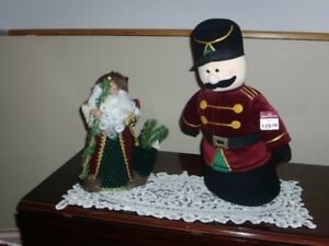CHRISTMAS DECORATIONS - SANTA, PLUSH SOLDIER