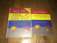 Grade 5 theory book and revision booklet