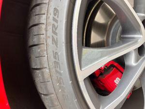 Pirelli P Zero tire fits Audi S4, etc. 245/35/R19