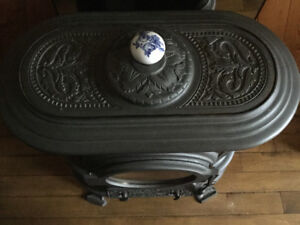 Cast Iron Wood and Coal Burning Stove (never used)