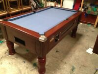 Pool table slate bed 6x3