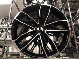 Set of 4 18 alloys alloy wheels rims tyre tyres 112 Seat Skoda audi Vw Volkswagen