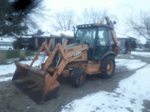 Case Backhoe 580M Ready for work Low Low hours