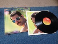 "Freddie Mercury ""Mr Bad Guy"" vinyl LP record (Queen)"
