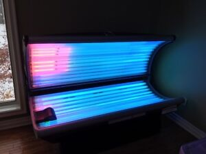 Gently used high quality tanning bed