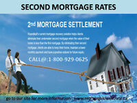 Second Mortgage rates for your home in Canada