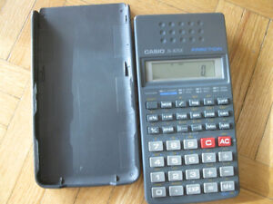 Casio fx-82sx Fraction Scientific Calculator w/ cover 10 digit