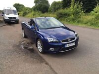 Ford Focus Convertible- 2.0 Petrol, 60K miles, Service History, Spare Key, Lovely example.