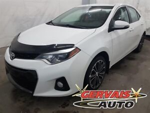 Toyota Corolla S Cuir/Tissus Toit Ouvrant MAGS Bluetooth 2014
