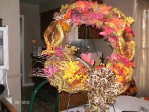 Assorted hand crafted wreaths