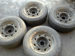 Four GM Rims and Tires for $20.00 total price!!!!